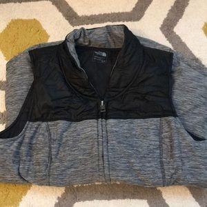 Northface Black and Gray Vest